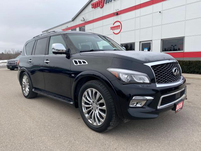 2015 Infiniti QX80 Limited with Navigation