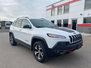 Used 2016 Jeep Cherokee Trailhawk 4X4 for sale in Tillsonburg, ON
