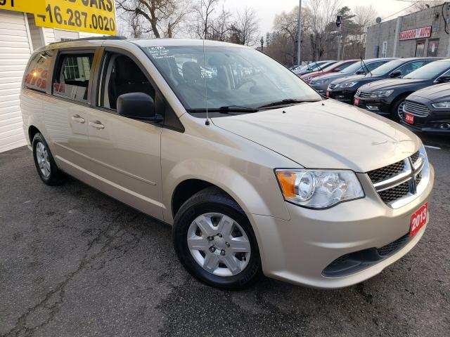 2013 Dodge Grand Caravan SE/BLUETOOTH/TINTED/DUAL CLIMATE/CAPTAINS/LOADED