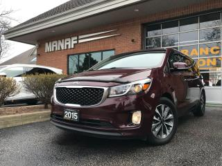 Used 2015 Kia Sedona SX 7 Passengers R.Cam Power Sliding Doors Certif* for sale in Concord, ON
