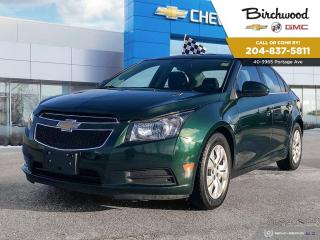 Used 2014 Chevrolet Cruze 1LT Sunroof | Bluetooth | Remote Start for sale in Winnipeg, MB