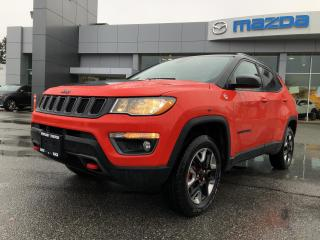 Used 2018 Jeep Compass Trailhawk 4x4 for sale in Surrey, BC