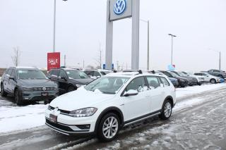 Used 2019 Volkswagen Golf Alltrack 1.8L TSI Highline DSG for sale in Whitby, ON