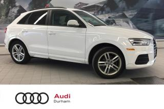 Used 2017 Audi Q3 2.0T Komfort + Pano Roof | quattro | Xenons for sale in Whitby, ON