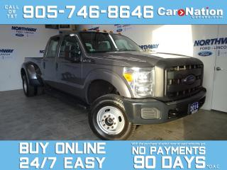 Used 2014 Ford F-350 4X4 | CREW CAB | DUALLY | ONLY 48 KM | 6.2L V8 for sale in Brantford, ON
