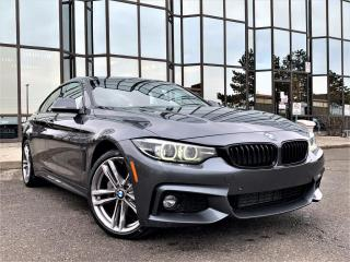 Used 2018 BMW 4 Series 430i XDRIVE|M PACKAGE|DIGITAL CLUSTER|HEATED SEATS|REAR VIEW for sale in Brampton, ON