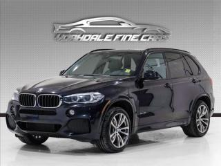 Used 2015 BMW X5 xDrive35i M Sport, Navigation, Intelligent Safety, Loaded for sale in Concord, ON