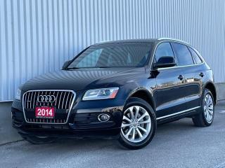 Used 2014 Audi Q5 Quattro Technik Navi Blind Spot Back Up Cam for sale in Mississauga, ON
