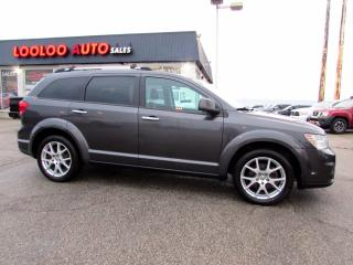 Used 2015 Dodge Journey R/T AWD 3.6L Leather 7 Passenger Bluetooth Certified for sale in Milton, ON