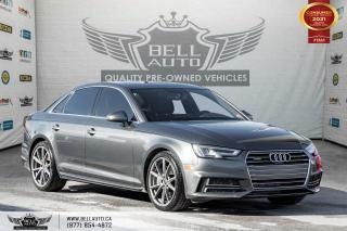 Used 2017 Audi A4 Technik, AWD, NAVI, PANO ROOF, 360 CAM, SENSORS, B.SPOT for sale in Toronto, ON