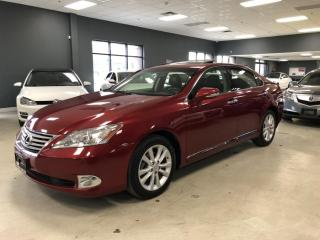 Used 2012 Lexus ES 350 BLUETOOTH*HEATED SEATS*SUNROOF*CERTIFIED* for sale in North York, ON