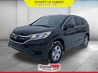 Used 2016 Honda CR-V LX * A VENDRE PRES DE QUEBEC* for sale in Donnacona, QC
