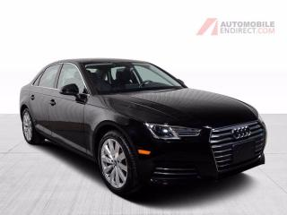 Used 2017 Audi A4 KOMFORT QUATTRO  CUIR TOIT OUVRANT MAGS GROS ECRAN for sale in St-Hubert, QC
