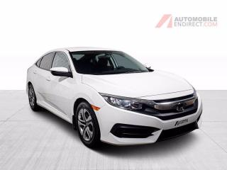 Used 2017 Honda Civic lx air climatise camera de recul for sale in St-Hubert, QC