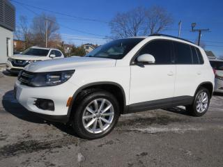 Used 2017 Volkswagen Tiguan 4MOTION Wolfsburg CAMERA CUIR MAGS **56,000KM** for sale in St-Eustache, QC