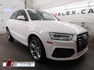 Used 2017 Audi Q3 S-LINE TECHNIK QUATTRO MAGS 19 NAVI CAMERA TOIT for sale in St-Eustache, QC