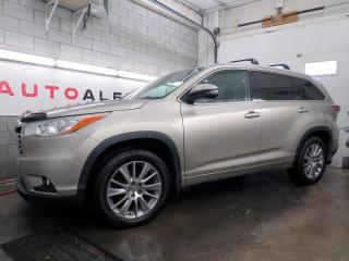 Used 2014 Toyota Highlander Awd Xle 8 Passager for sale in St-Eustache, QC