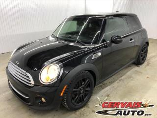 Used 2013 MINI Cooper Hardtop Knightsbridge Cuir/Tissus Toit Panoramique Mags *Bas Kilométrage* for sale in Shawinigan, QC