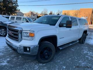 Used 2015 GMC Sierra 1500 Boite 6.5 pieds, SLE, crewcab for sale in Drummondville, QC