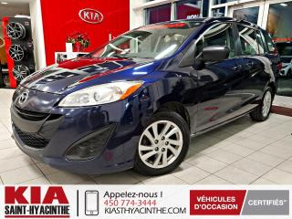 Used 2012 Mazda MAZDA5 GS ** GR ÉLECTRIQUE + A/C for sale in St-Hyacinthe, QC