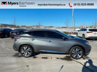 Used 2017 Nissan Murano Platinum  - Sunroof -  Navigation - $162 B/W for sale in Ottawa, ON