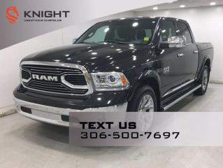 Used 2016 RAM 1500 Limited Crew Cab EcoDiesel | Leather | Sunroof | Navigation | Ram Box | for sale in Regina, SK