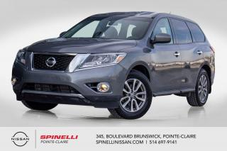 Used 2016 Nissan Pathfinder S AWD TRES BAS KM / 7 PASSAGERS / 4WD  / MAGS 18'' / DOUBLE CLIMATISATION for sale in Montréal, QC