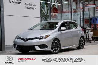 Used 2017 Toyota Corolla iM BAS MILEAGE! for sale in Lachine, QC