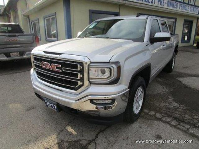 2017 GMC Sierra 1500 WORK READY SLE EDITION 6 PASSENGER 5.3L - VORTEC.. 4X4.. CREW-CAB.. SHORTY..  TRAILER BRAKE.. BACK-UP CAMERA.. BLUETOOTH SYSTEM.. KEYLESS ENTRY..