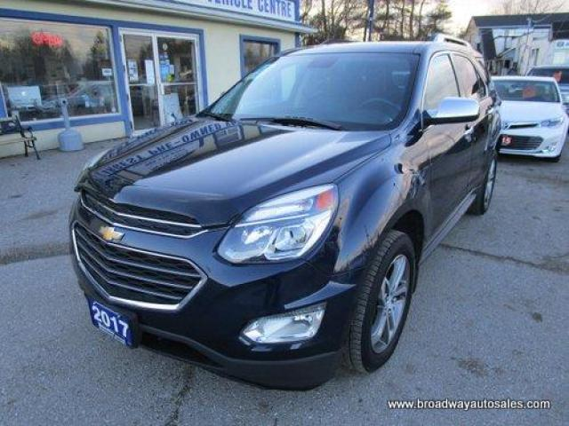 2017 Chevrolet Equinox LOADED PREMIER EDITION 5 PASSENGER 2.4L - ECO-TEC.. NAVIGATION.. LEATHER.. HEATED SEATS.. BACK-UP CAMERA.. POWER SUNROOF.. PIONEER AUDIO..