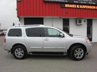 Used 2013 Nissan Armada Platinum Edtion $16,995+HST+LIC FEE / CERTIFIED / CLEAN CARFAX/ DVD PLAYER for sale in North York, ON