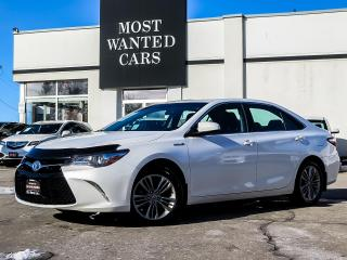 Used 2017 Toyota Camry SE|HYBRID|CAMERA|TOUCHSCREEN|HEATED SEATS|ALLOYS|SUEDE SEATS for sale in Kitchener, ON