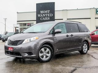 Used 2016 Toyota Sienna FWD|7 PASS|CAMERA|TOUCHSCREEN|BLUETOOTH|17