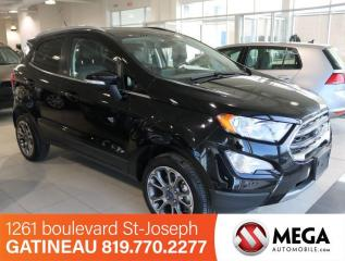 Used 2019 Ford EcoSport Titanium 4WD for sale in Gatineau, QC