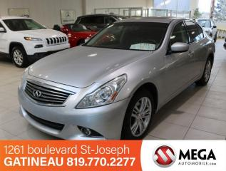 Used 2011 Infiniti G37 X AWD for sale in Gatineau, QC