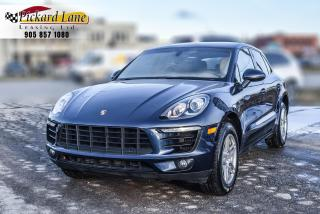 Used 2015 Porsche Macan MACAN S! | BROWN LEATHER INTERIOR! | 1 OWNER!! for sale in Bolton, ON