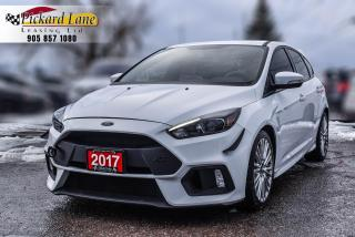 Used 2017 Ford Focus RS 1 OWNER! | ACCIDENT FREE! | ONTARIO VEHICLE! for sale in Bolton, ON