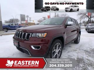 Used 2020 Jeep Grand Cherokee Limited | 1 Owner | No Accidents | Sunroof | for sale in Winnipeg, MB