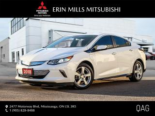 Used 2018 Chevrolet Volt LT|NO ACCIDENTS|ONE OWNER|CAMERA|BLUETOOTH for sale in Mississauga, ON