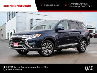 Used 2020 Mitsubishi Outlander EX-L S-AWC|NO ACCIDENTS|1OWNER|LEATHER|ROOF|CARPLAY for sale in Mississauga, ON