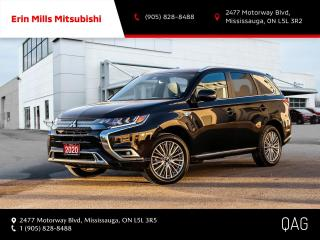 Used 2020 Mitsubishi Outlander Phev GT S-AWC|NO ACCIDENTS|CARPLAY|CAM|LEATHER|ROOF for sale in Mississauga, ON