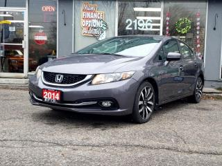 Used 2014 Honda Civic Sedan 4dr CVT Touring for sale in Bowmanville, ON