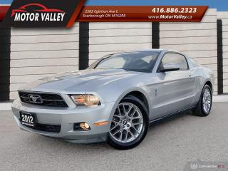 Used 2012 Ford Mustang Premium V6 3.7L Leather Interior Mint! for sale in Scarborough, ON