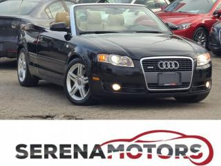 Used 2007 Audi A4 2.0T QUATTRO | AUTO | FULLY LOADED | NO ACCIDENTS for sale in Mississauga, ON