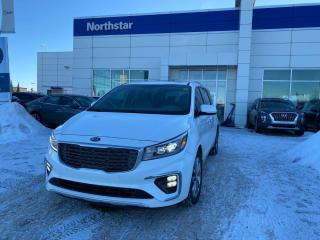 Used 2019 Kia Sedona SXL HEATEDANDCOOLEDSEATS/ADAPTIVECRUISE/SUNROOF/NAV/LEATHER for sale in Edmonton, AB