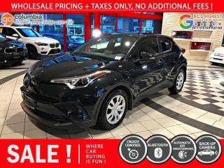 Used 2019 Toyota C-HR LE - No Accident / Local / No Dealer Fees / One Owner for sale in Richmond, BC