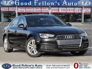 Used 2017 Audi A4 KOMFORT, LEATHER SEATS, SUNROOF,PARKING ASSIS REAR for sale in Toronto, ON