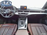 2017 Audi A4 KOMFORT, LEATHER SEATS, SUNROOF,PARKING ASSIS REAR