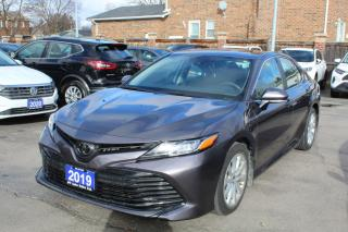 Used 2019 Toyota Camry LE Upgrade Keyless Start Power Seat for sale in Brampton, ON