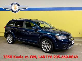 Used 2014 Dodge Journey R/T AWD, Navi, DVD, 7 Pass for sale in Vaughan, ON